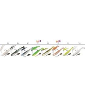 Cuerpo Shrimp Tungsteno 8,0-S-10 Plata
